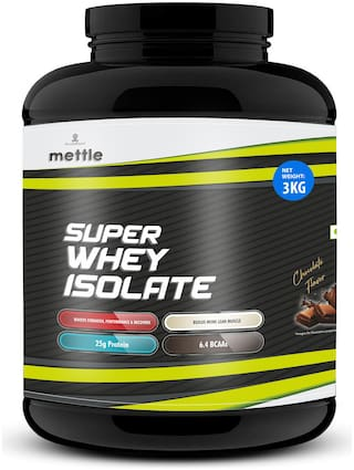 Mettle Super Whey Isolate Chocolate 3kg