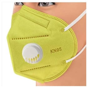 Mexania KN95 5 layer Mask with Meltblown Fabric Washable and Reusable Anti Pollution With Filter (Pack of 1 )