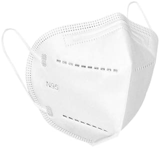 Mexania N95 Anti Pollution Face Mask Pack Of 4