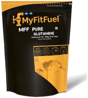 MyFitFuel Pure Glutamine-Unflavoured (200 gm) 50 Servings