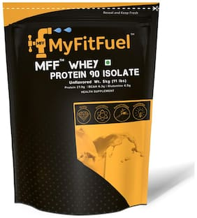 MyFitFuel Whey Protein 90 Isolate (Unflavored 5 kg (11 lb))