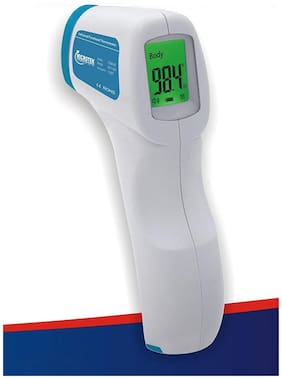 Microtek TG8818C Infrared Thermometer;Non Contact Forehead Thermometer with extra long Range ( Pack of 1 )