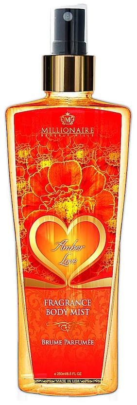 Millionaire Beverly Hills Amber Love Fragrance Body Mist 250ml
