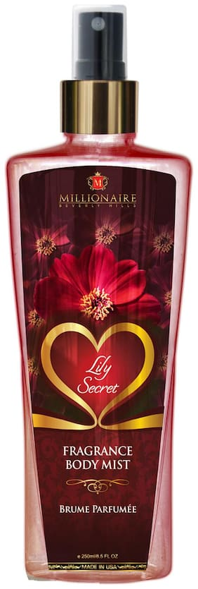 Millionaire Beverly Hills Lily Secret Fragrance Body Mist 250ml
