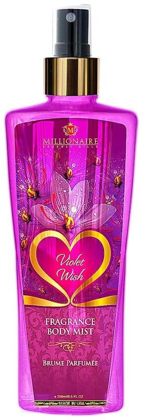 Millionaire Beverly Hills Violet Wish Fragrance Body Mist 250ml