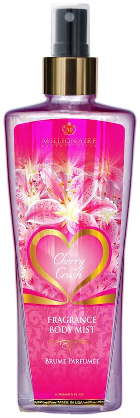 Millionaire Beverly Hills Cherry Crush Fragrance Body Mist 250ml