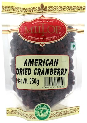 Miltop American Dried Cranberry 250 G