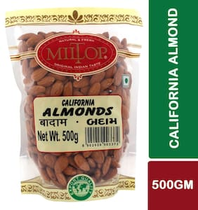Miltop California Almonds 500 G 1Pc.