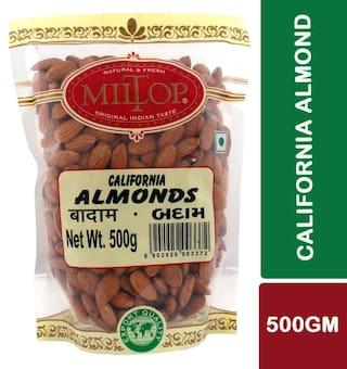 Miltop California Almonds 500 G 1Pc.