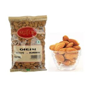 Miltop California Almonds 500Gm 1Pc.