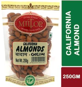 Miltop California Almonds 250G