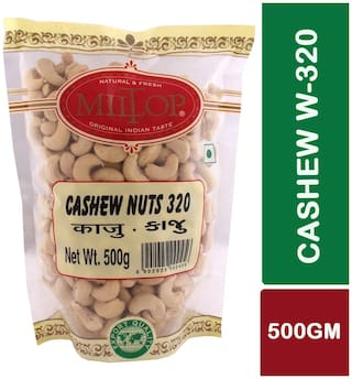 Miltop Cashew W320 Nuts 500 G 1pc.