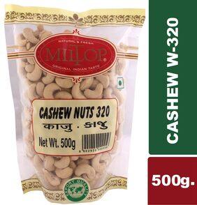 Miltop Cashew W320 Nuts 500 g 1Pc.