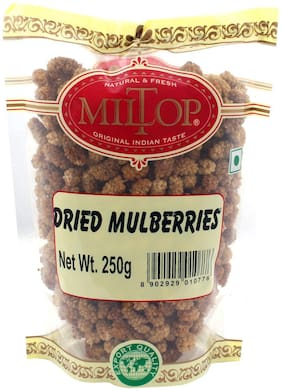 Miltop Dried Mulberries 250Gm