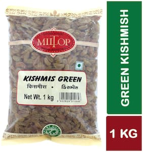 Miltop Kishmish Green 500 G(Pack Of 2)