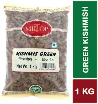 Miltop Kishmish Green 500 G(Pack Of 2)