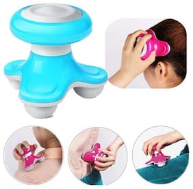 Mini Portable Vibration USB Electric Body Head Massager (Pack of 1) Assorted Color