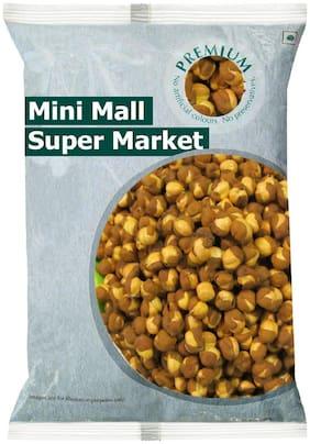 Minimall Super Market Whole Salted Roasted Bhuna Chana 1 Kg - Organic Healthy Roasted Chana