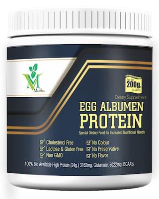 Mintveda Egg Albumen Protein Powder 200g (Pack of 1)