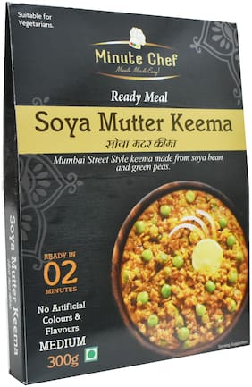 Minute Chef- Ready to Eat SOYA Mutter Keema;300gm