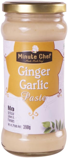 Minute Chef- Ready to Cook Ginger Garlic Paste;390gm