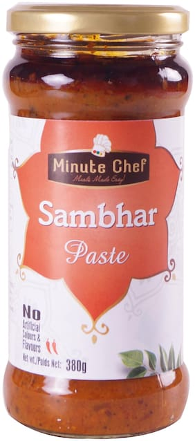 Minute Chef- Ready to Cook Sambhar Paste;380gm