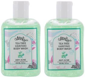 Mirah Belle Tea Tree Anti Acne Body Wash 250 ml Pack of 2