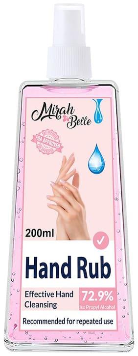 Mirah Belle  Hand Rub Sanitizer Spray 200 ml (Pack Of 1)