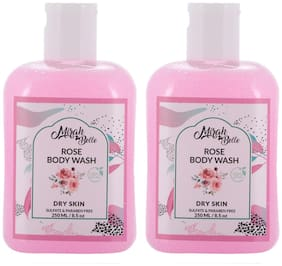 Mirah Belle Rose Dry Skin Body Wash 250 ml Pack of 2