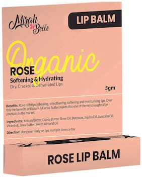 Mirah Belle - Rose Lip Balm With Beeswax 5g