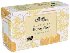Mirah Belle - Organic and Natural Goat Milk, Honey & Shea Butter Sensitive Skin Soap Bar- Unscented, Hypoallerginic, Fragrance Free, Good for Eczema, Psoriasis, Babies, and Sensitive Skin.