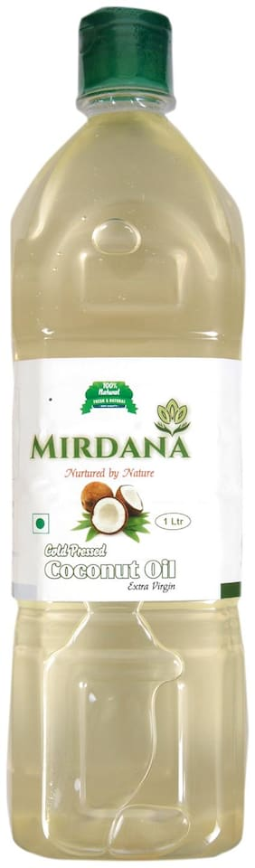 Mirdana Cold Pressed Coconut Oil 1 L (Pack of 1)