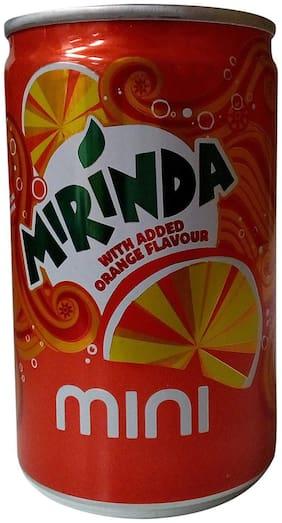 Mirinda Soft Drink - Orange Flavour  Mini Can 150 ml