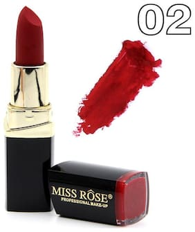 Miss Rose 3D Mineral Matte Look Lipstick Shade #2 2.5 g Pack of 1