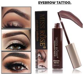 Miss Rose Eyebrow Tattoo