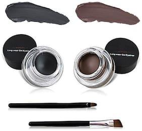Miss Rose Gen Eyeliner( Black & Brown)# 4 g Pack of 2
