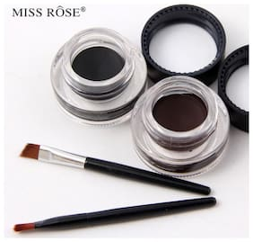 Miss Rose Gel Eyeliner (Black and Brown)
