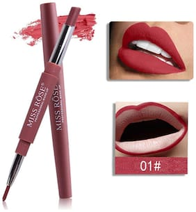 Miss Rose Lip Liner Plus Lipstick Shade#1 2.5 g Pack of 1