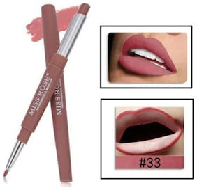 Miss Rose Lip Liner 2 in 1 Lipstick 2.1g Brown