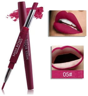 Miss Rose Lip Liner 2 in 1 Lipstick 2.1g Magenta