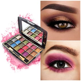 Miss Rose Multicolor Metallic Shimmer Eyeshadow Highly Pigmented Palette 50g 7001-402M3