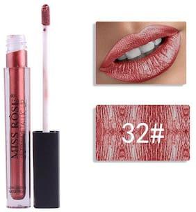 Miss Rose Professional Make-Up Ultra Metallic Lipgloss (Waterproof, Longlasting) 5ml