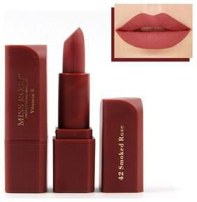 Miss Rose Professional Make-Up Lipstick Matte Color Cosmetic Women Lipstick 3.4g (7301-042M-42)