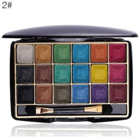 Miss Rose Professional Make-Up Dreamlike Bright Eye Shadow 18 Color (7001-402M-02) 12g