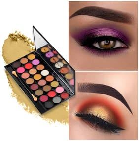 Miss Rose Profestional 24 Color Super Pigmented Waterproof Long Last Beauty Cosmetic EyeShadow Makeup Palette  7001-356MY02