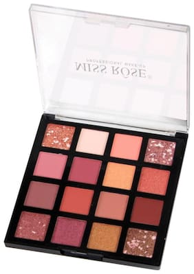 Miss Rose Professional Cosmetics shiny and shimmer Colors EyeShadow Palette .7001-007z1