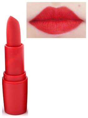 Miss Rose Red Waterproof Professional Make-Up Matte Lipstick 3.4 g