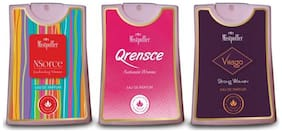 Mistpoffer Nsorce;Qrensce;Virago Pocket Perfume;Premium European Fragrance Combo Offer 275 Sprays for Women (18 ml Each) Pack of 3