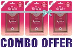 Mistpoffer Qrensce Pocket Perfume;Premium European Fragrance Combo Offer 275 Sprays for Women 18 ml Each Pack of 3