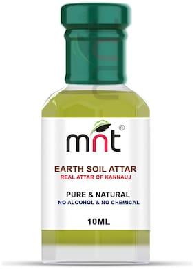 MNT Earth Soil Attar For Unisex Long Lasting & Alcohol Free (10ml)